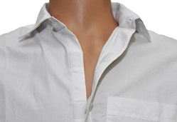 Ezizio Mens Shirt with velcro buttons