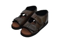 Men Diabetic Sandal Brown