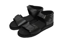 Men Diabetic Sandal Black